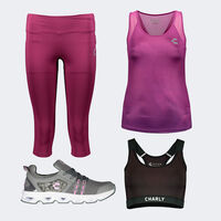 Key Look Charly Sport Purple para Mujer