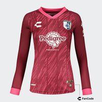 Querétaro Home LS Goalkeeper Jersey for Women 2021/22