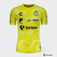 Santos Home Goalkeeper Jersey for Men 2021/22