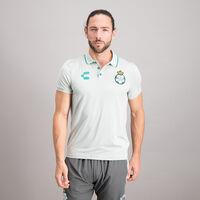Playera Polo Jersey Sport Concentración Santos para Hombre