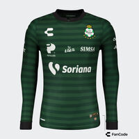 Santos Away LS Jersey for Men 2021/22
