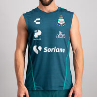 Playera Tank Charly Santos Concentración para Hombre
