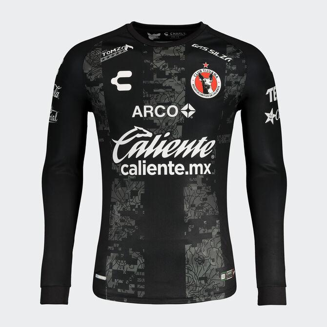 Xolos 4th Uniform LS Goalkeeper Uniform 2020/21 Jersey for Men