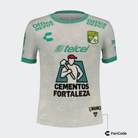 León Away Jersey for Boys 2021/22