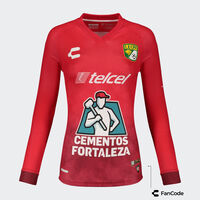Jersey León Away LS Goalkeeper Women 2021/22