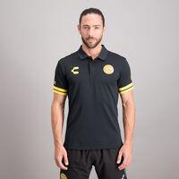 Playera Polo Charly Sport Concentración Dorados para Hombre