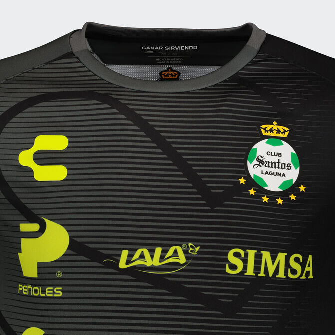 Santos Home Goalkeeper 2020/21 Jersey for Men